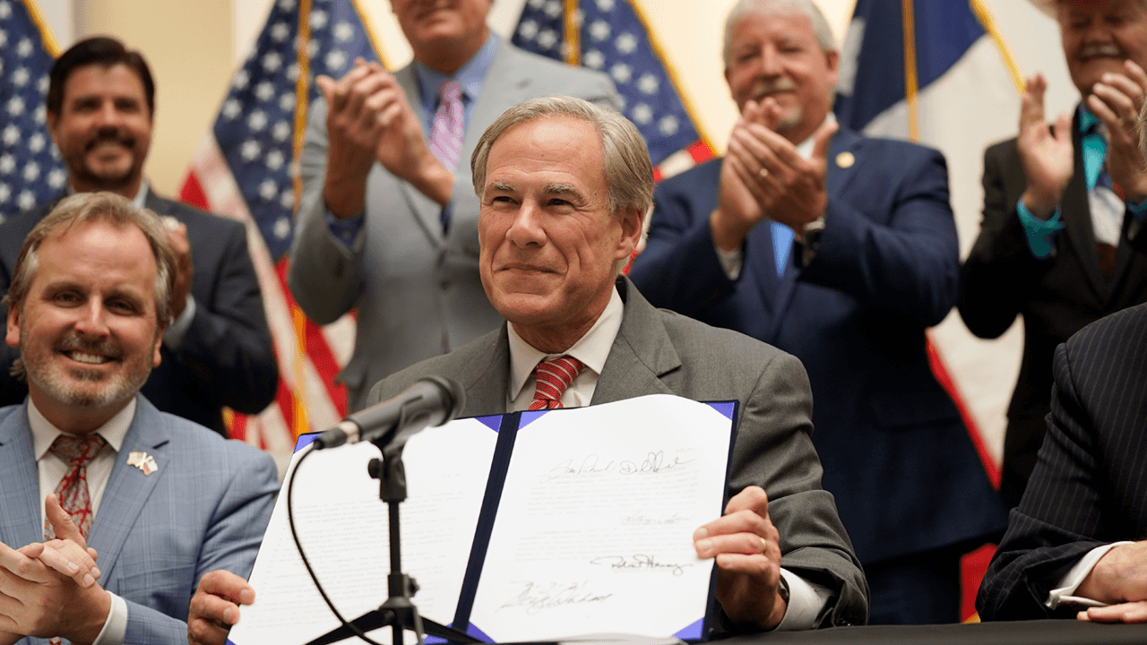 Greg Abbott passes Texas election integrity law
