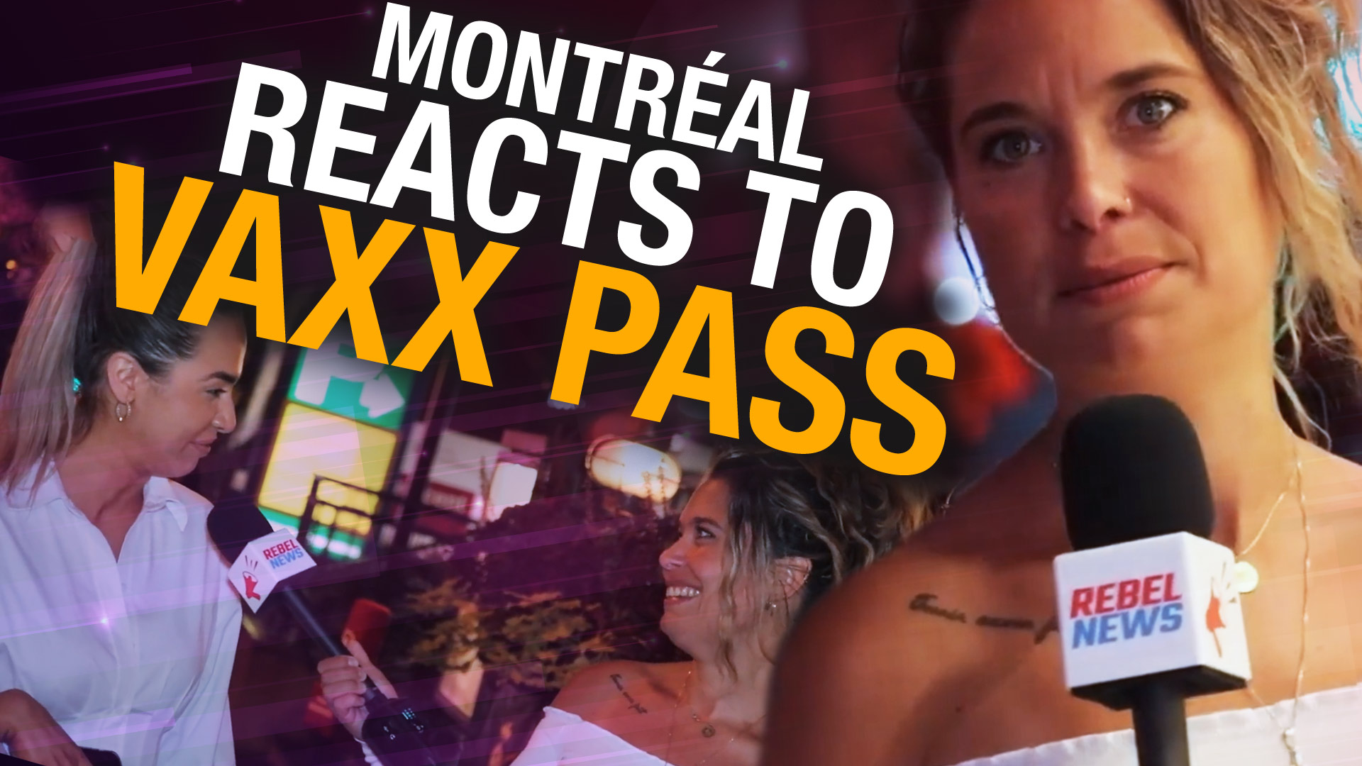Bars based on vaccine status? Montrealers share their opinions on vax passes