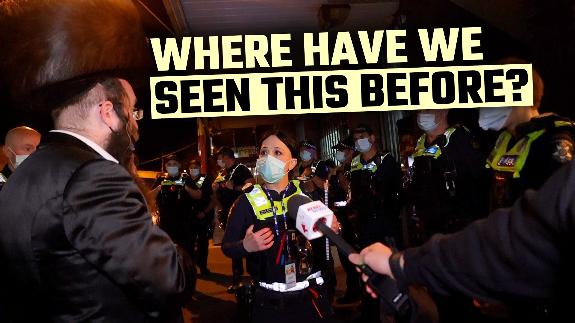 Loving community TARGETED by police for daring to celebrate their faith