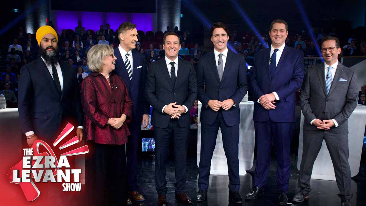 The Ezra Levant Show: Who won last night's leaders debate? Not the Canadian people.