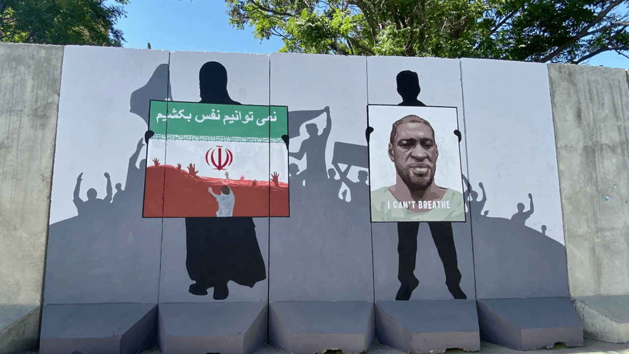 Taliban painting over murals on Kabul streets, including commemoration of peace agreement with U.S.