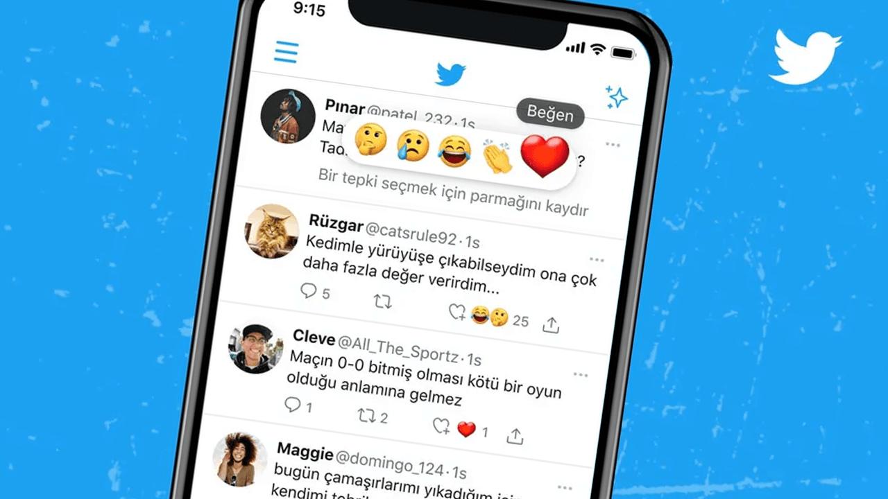 Twitter testing emoji reactions to tweets, similar to Facebook