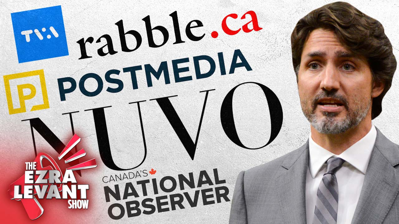Naming the media who secretly took Trudeau's $61M pre-election pay-off