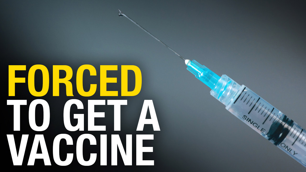 Work from home Alberta Health Services worker facing forced vaccination