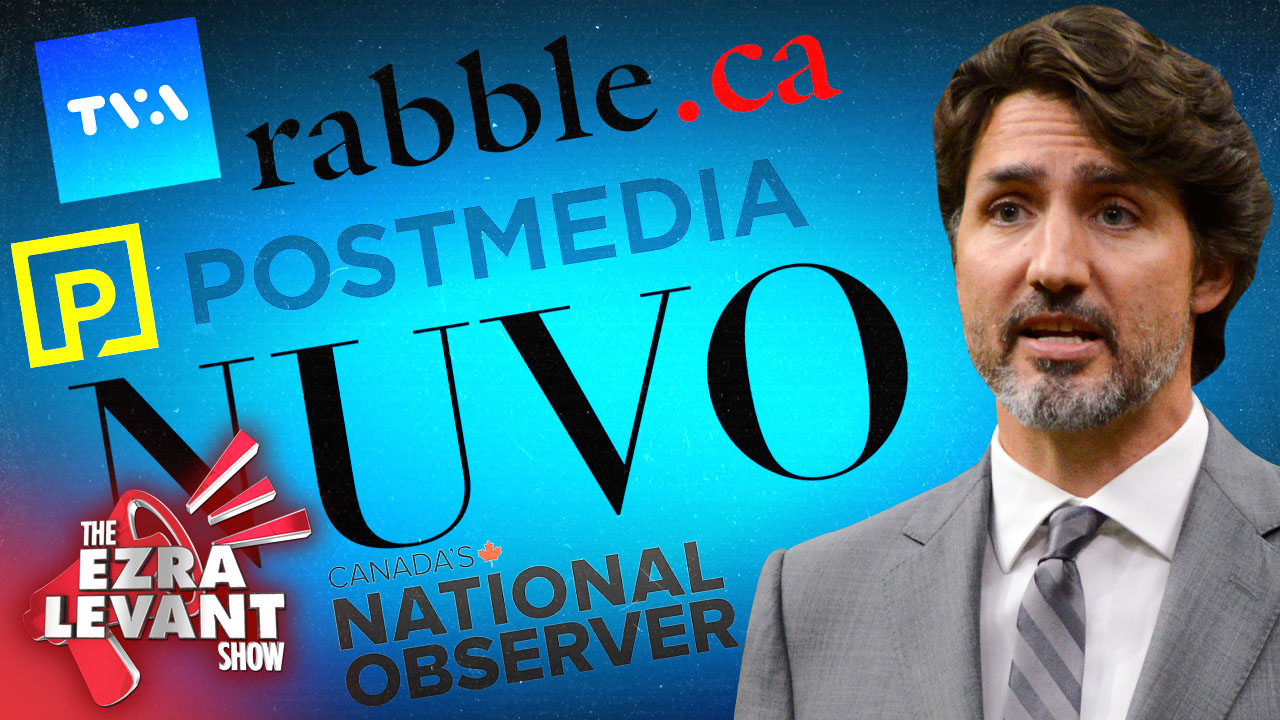 Every news media who secretly took Trudeau's $61M pre-election pay-off