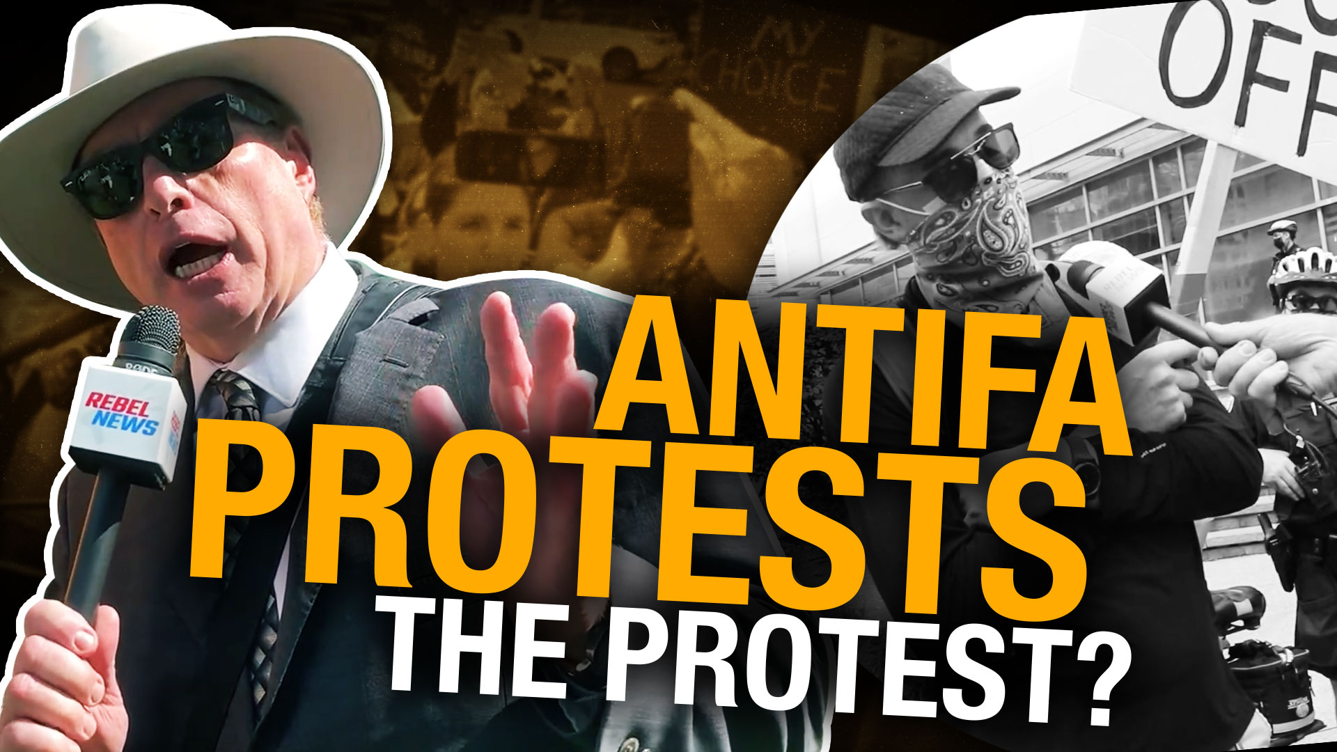 """Mainstream media reported hospital protest as """"terrifying"""" — don't believe the hype"""