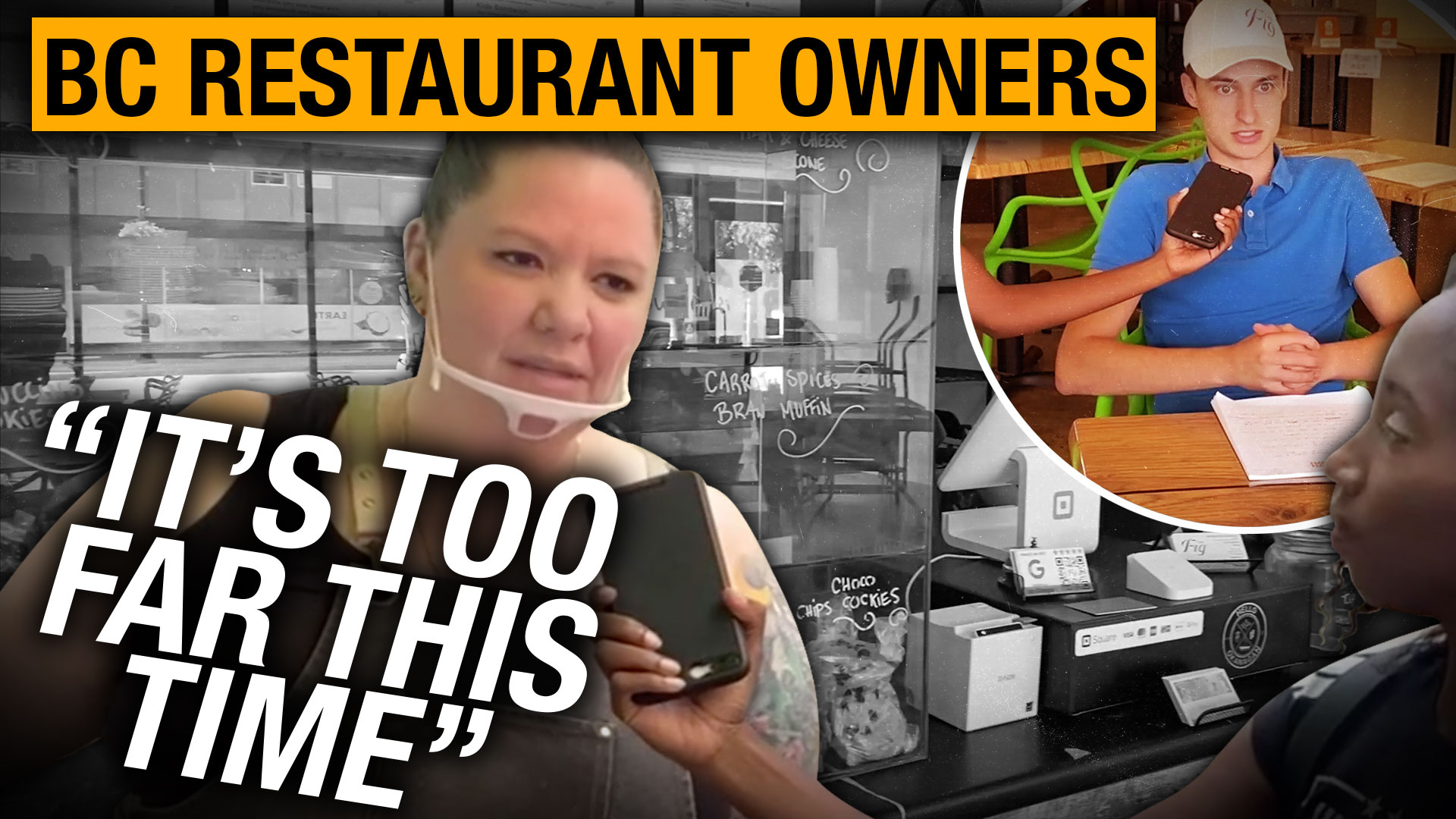 """""""I am pro-choice and anti-segregation"""": B.C. restaurant owners against vaccine passports"""