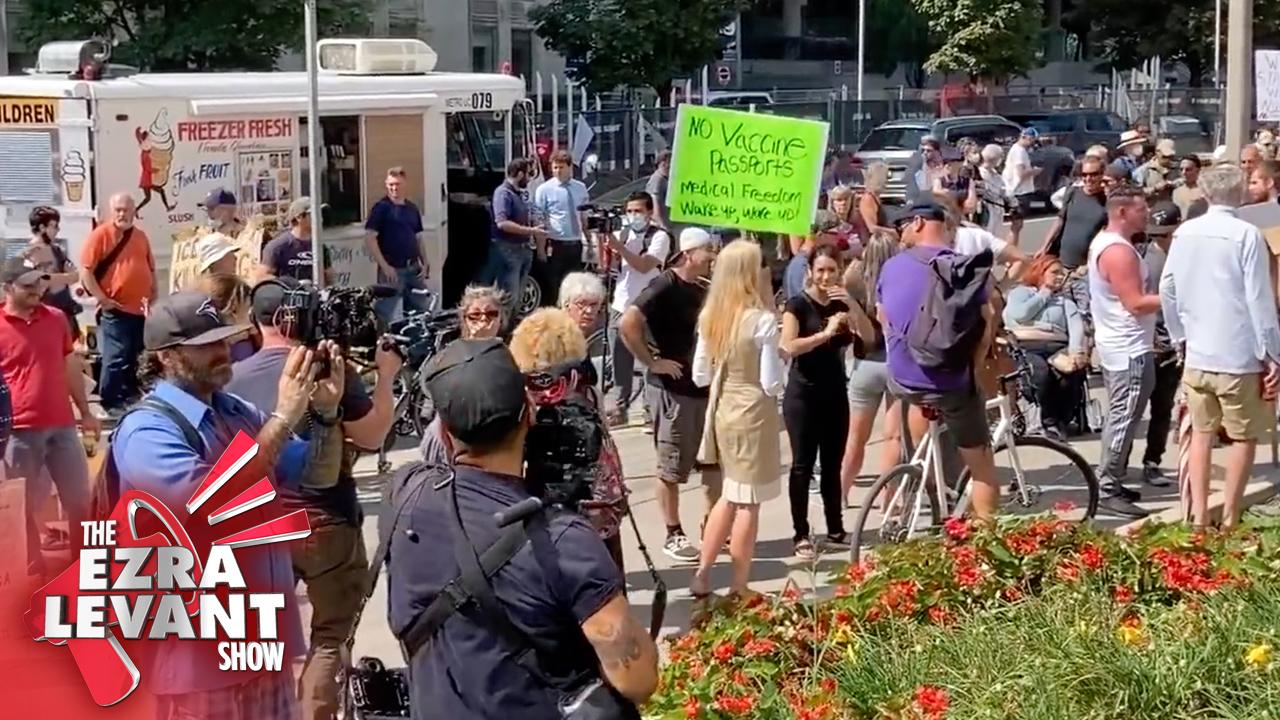 Elites demonize protest against healthcare worker vaccine mandate