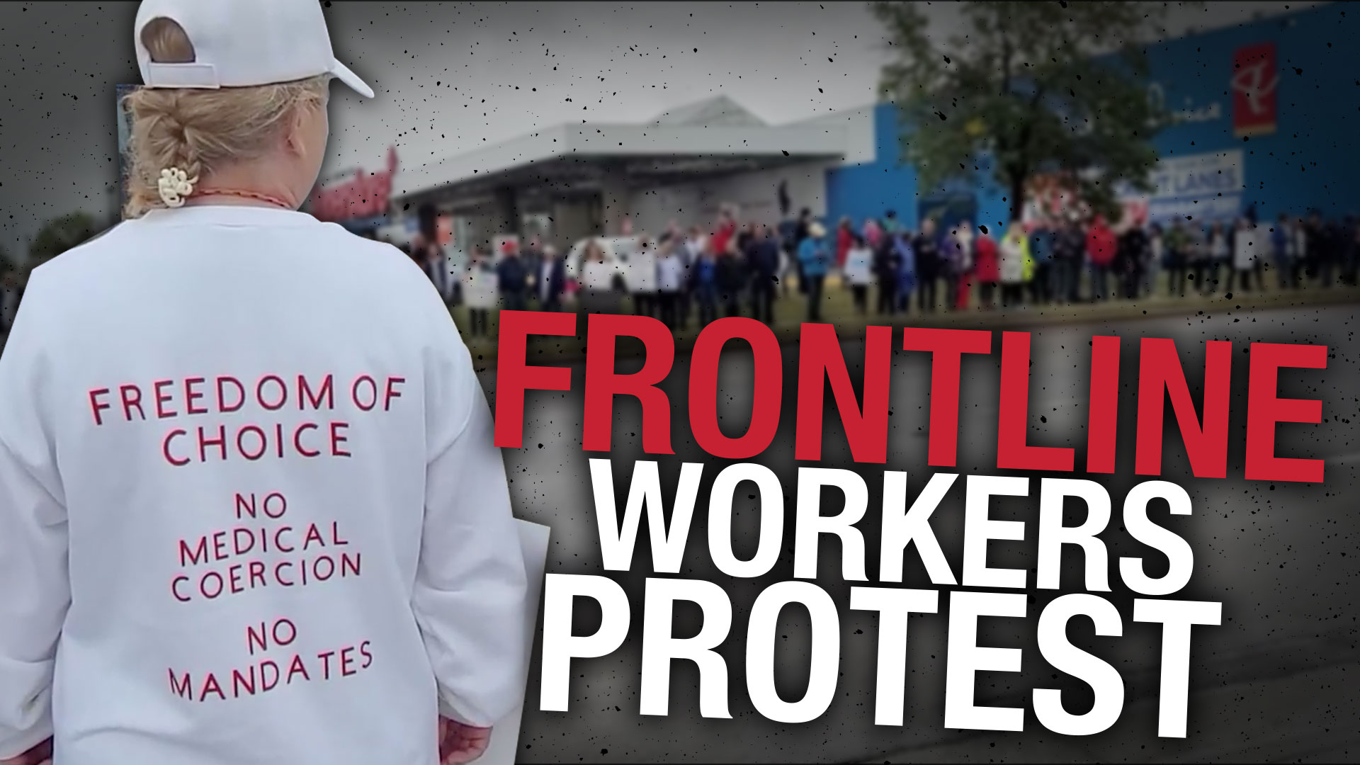 Edmontonians rally to support frontline workers facing COVID vaccine mandates