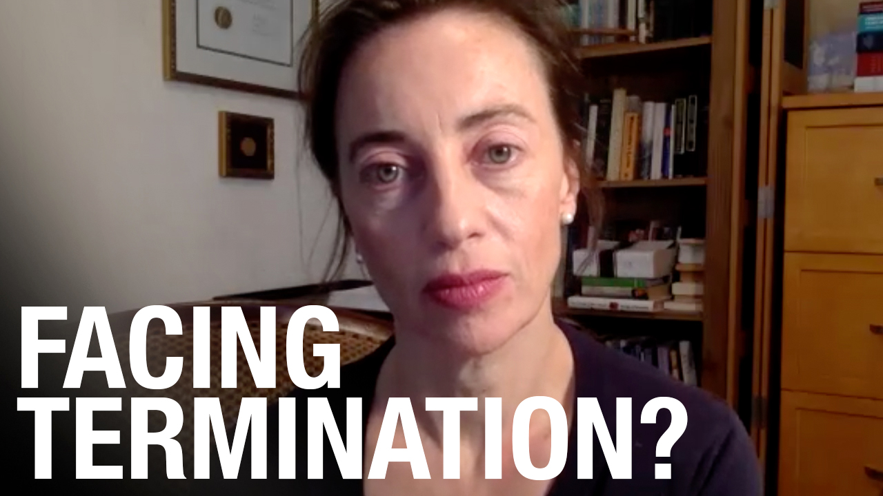 INTERVIEW: Ethics professor facing termination for refusing to reveal COVID vaccine status