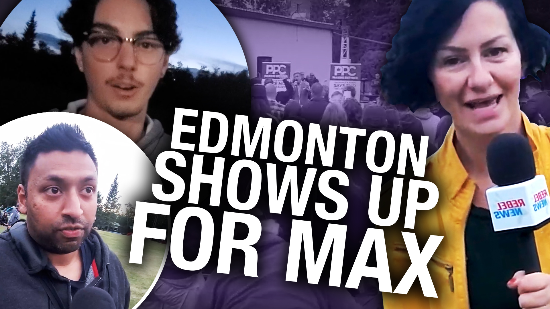 Maxime Bernier in Edmonton: Supporters Explain Why They're Voting PPC