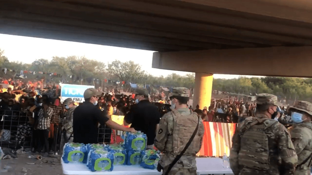 Biden admin under fire for blocking drones from showing state of border crisis in Del Rio, Texas