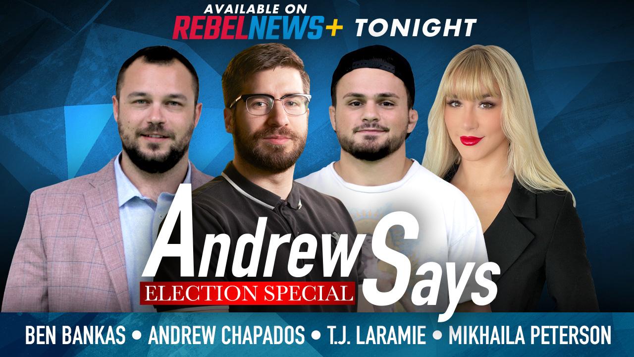 Andrew Says Election Special | Mikhaila Peterson, Ben Benkas and T.J. Laramie (UFC)