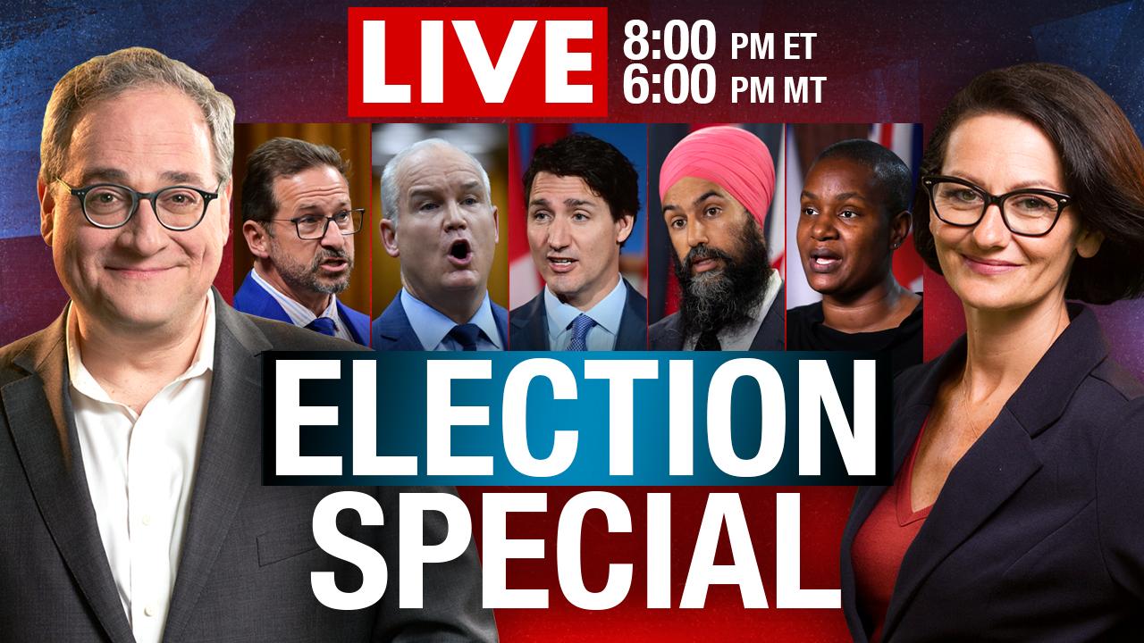 Rebel News LIVE! Canada Votes 2021