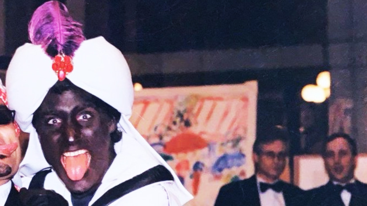 New colour photo emerges of Justin Trudeau in blackface