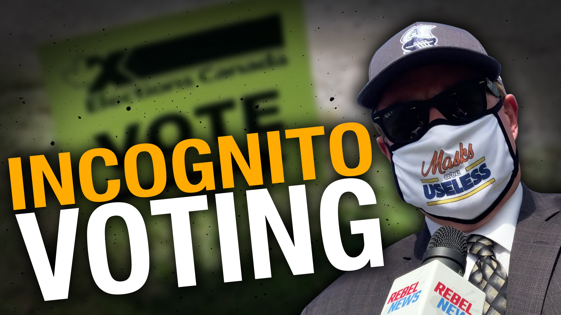 Is anyone — including Elections Canada — concerned about masked voting?