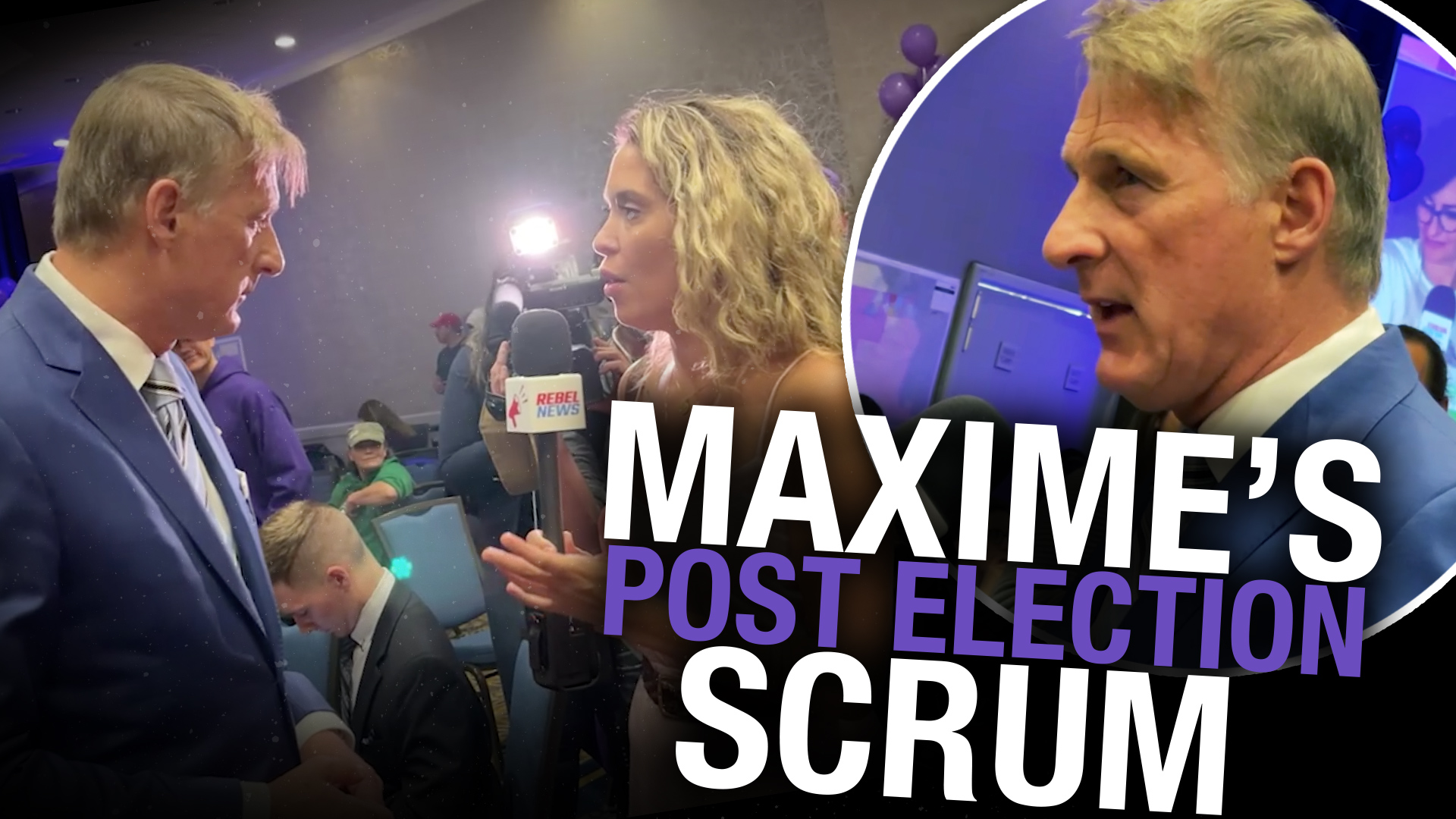 Maxime Bernier reacts to election defeat, increased PPC support
