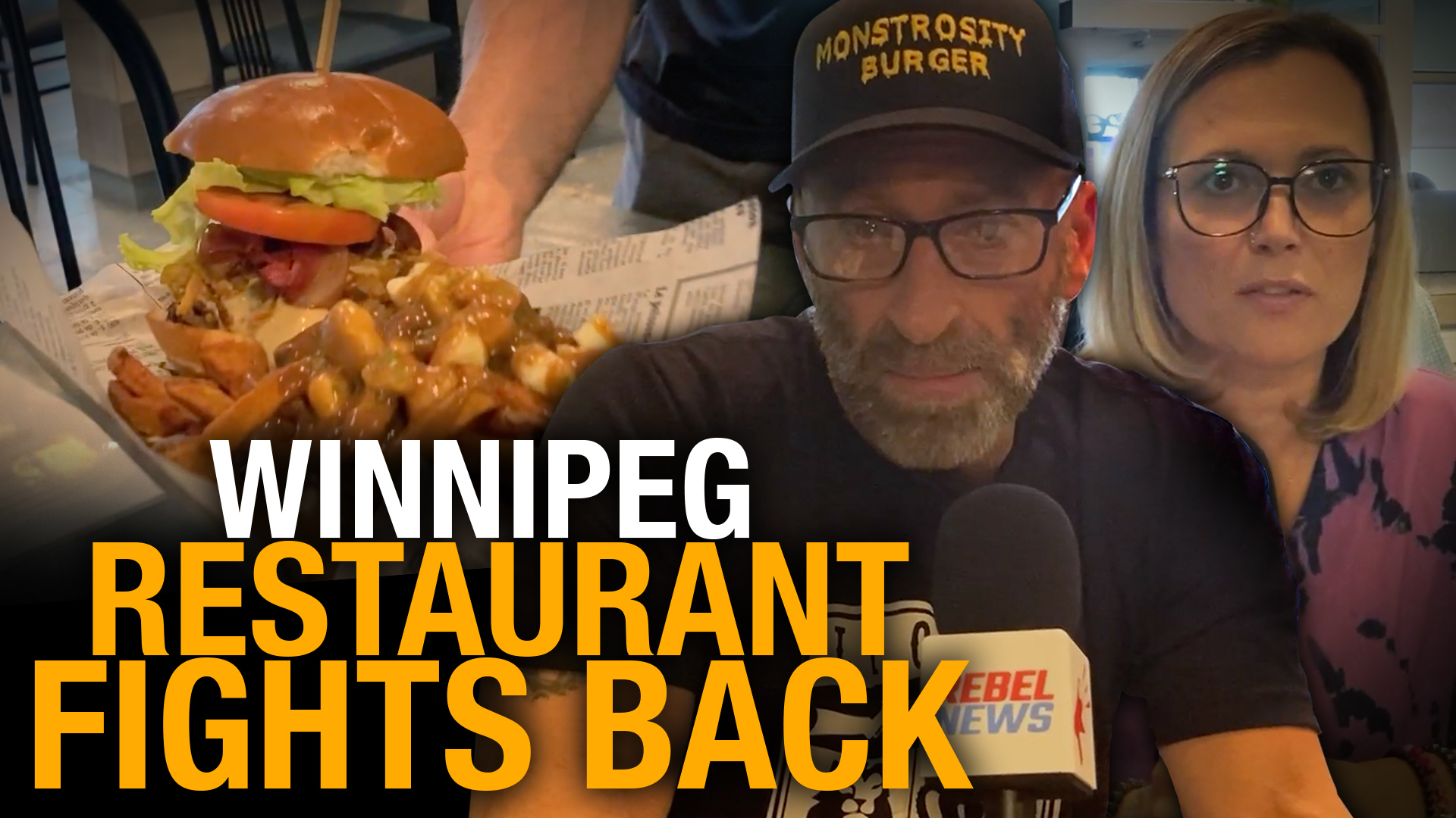 Winnipeg restaurant Monstrosity Burger takes a stand against vaccine passport mandate