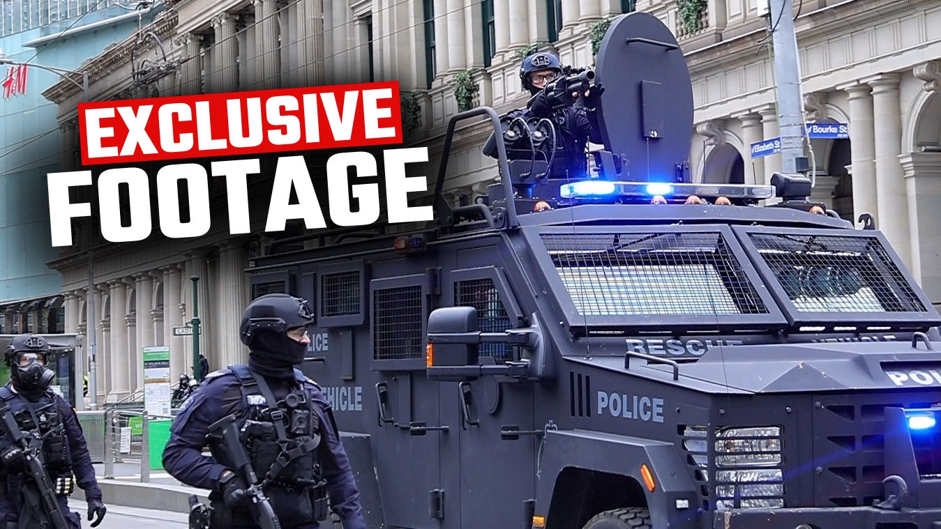 EXCLUSIVE: Police deploy counter-terror squad on construction workers in Melbourne