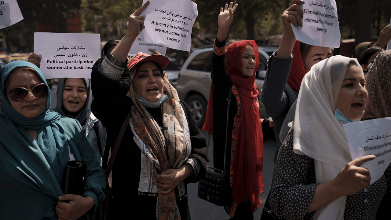 Afghan women share photos in traditional clothing to protest Taliban dress code