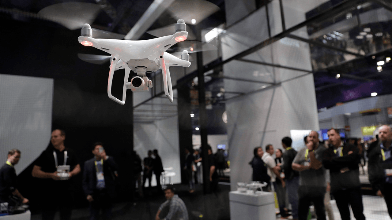 U.S. law enforcement agencies purchase surveillance drones from China despite warnings from military