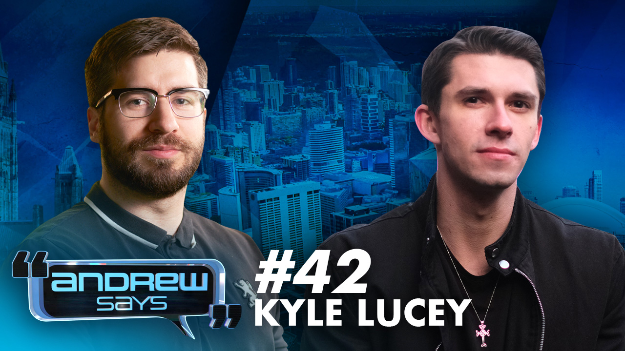 """""""I know when I'm being lied to"""": Kyle Lucey on how lockdowns almost ruined comedy 