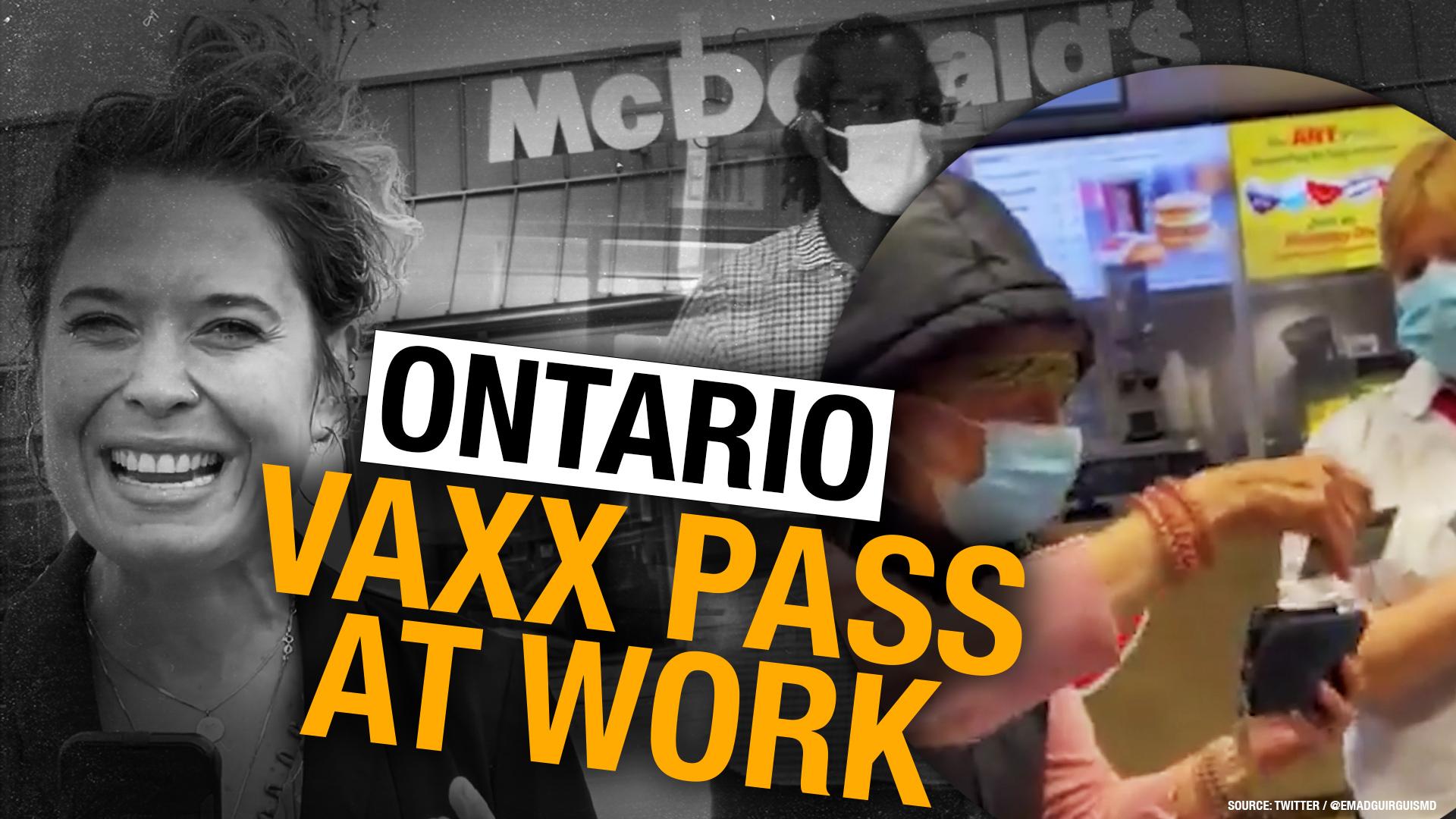 Toronto-area McDonald's kicks out elderly customer for not having vax proof
