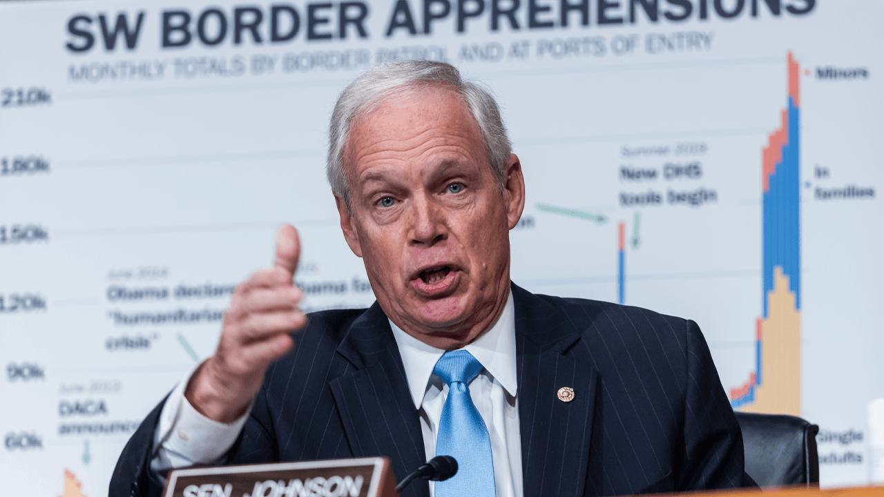 Sen. Ron Johnson interrogates DHS Secretary Mayorkas over lack of data on illegal immigration