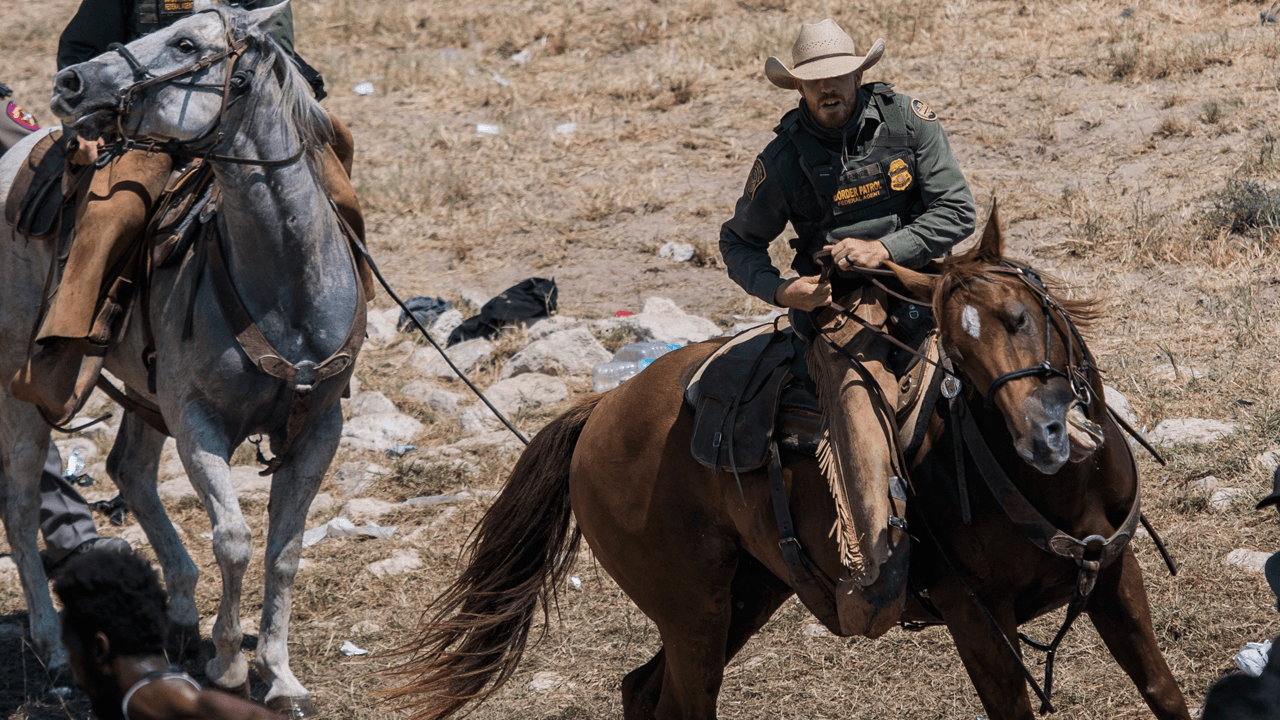 Biden admin bans use of horses by Border Patrol after alleged whipping controversy
