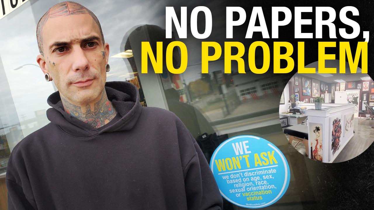 No papers, no problem: Edmonton tattoo parlour says We Won't Ask