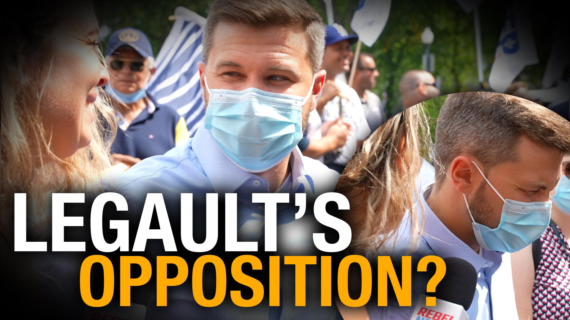 Quebec's opposition leader Gabriel Nadeau-Dubois: