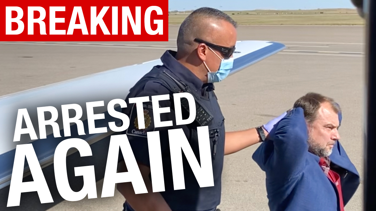 BREAKING: Pastor Artur Pawlowski ARRESTED again after landing at Calgary airport
