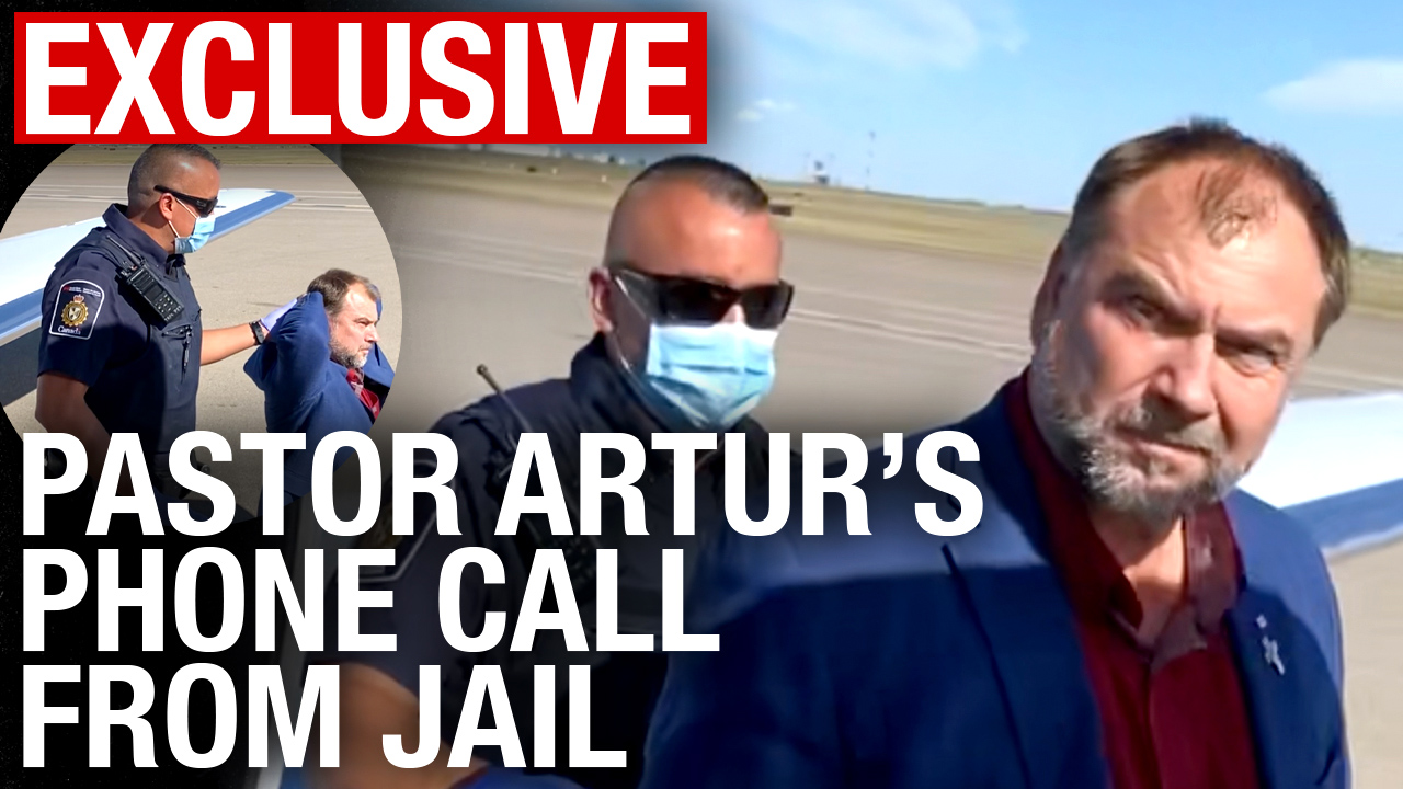 EXCLUSIVE: Phone interview with Pastor Artur Pawlowski behind bars following latest arrest