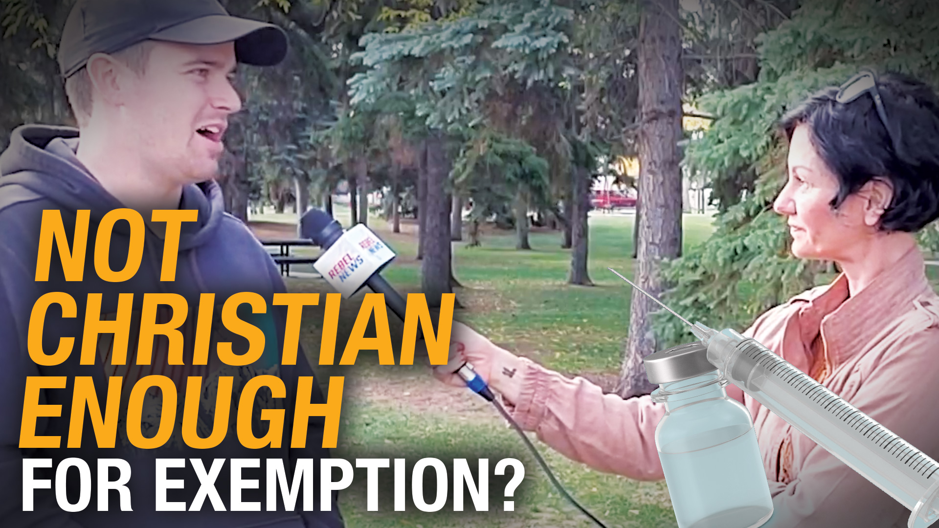 Edmonton university REFUSES to recognize student's religious exemption to vaccine mandate