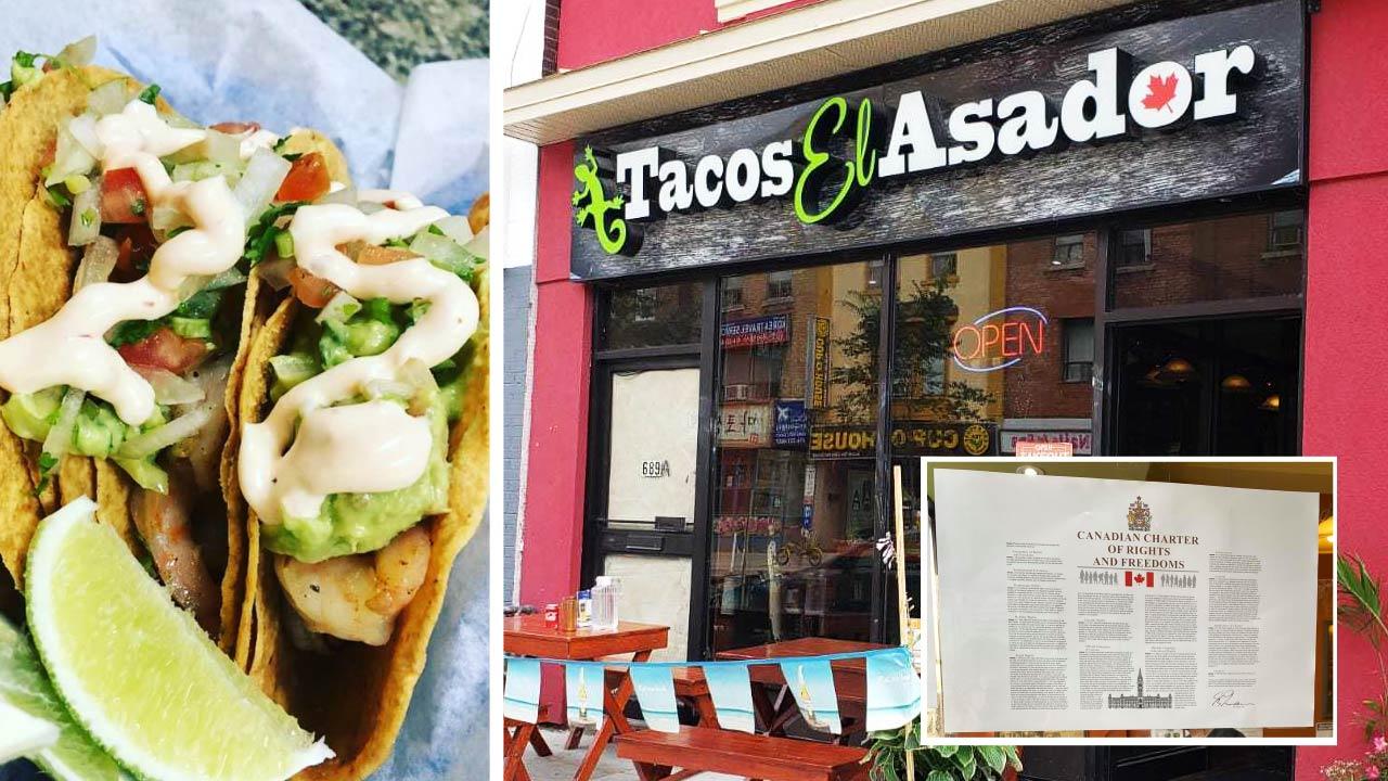 Toronto taco restaurant stands up against Ontario's vaccine passport