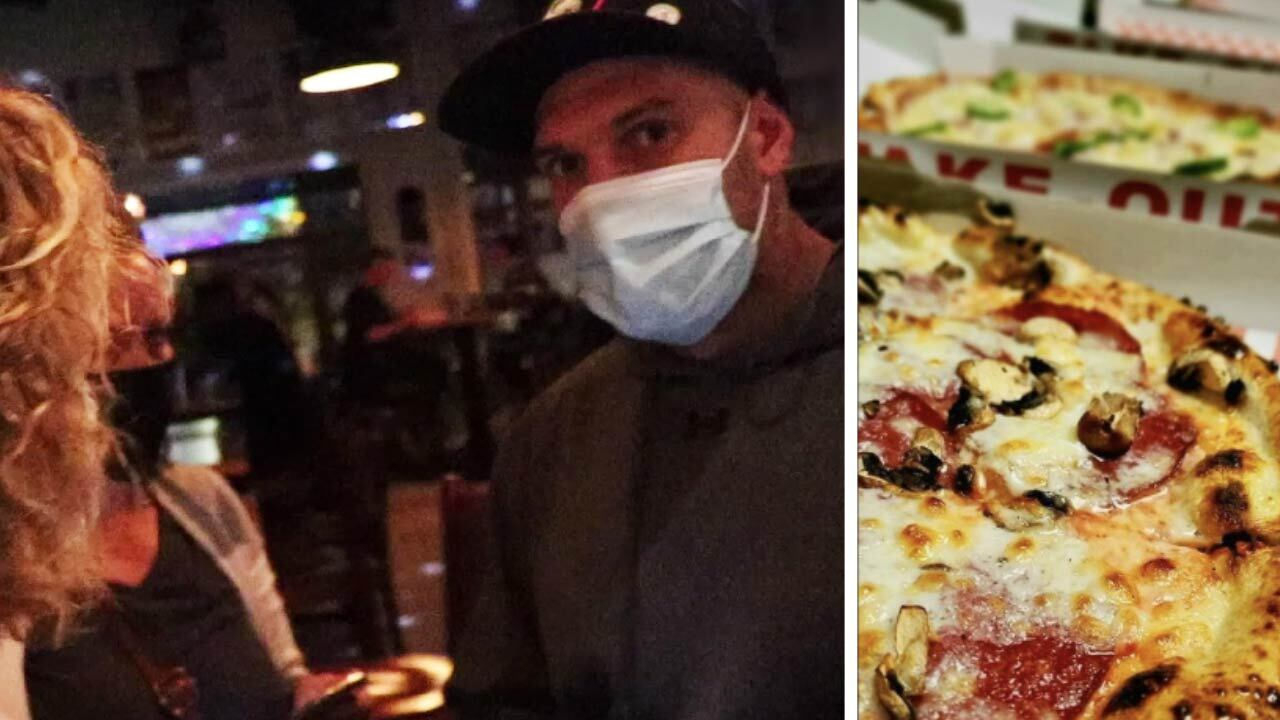 WATCH: Inspectors pay visit to Calgary pizzeria defying vaccine passports