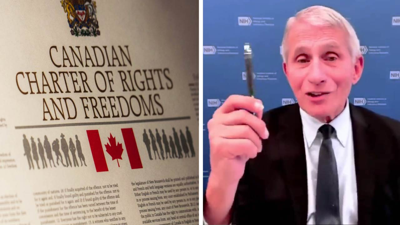 """Fauci to Canadians: """"give up"""" your individual rights, take COVID vaccine"""