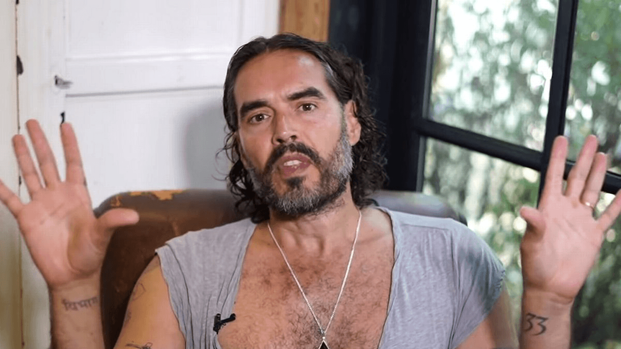 Russell Brand becomes target of mainstream media for questioning COVID narratives
