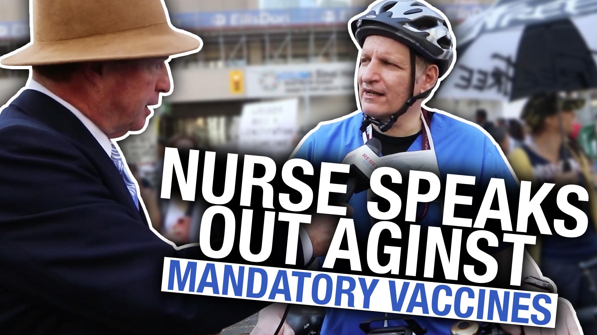 Ontario nurse shares his opinion on COVID vaccines