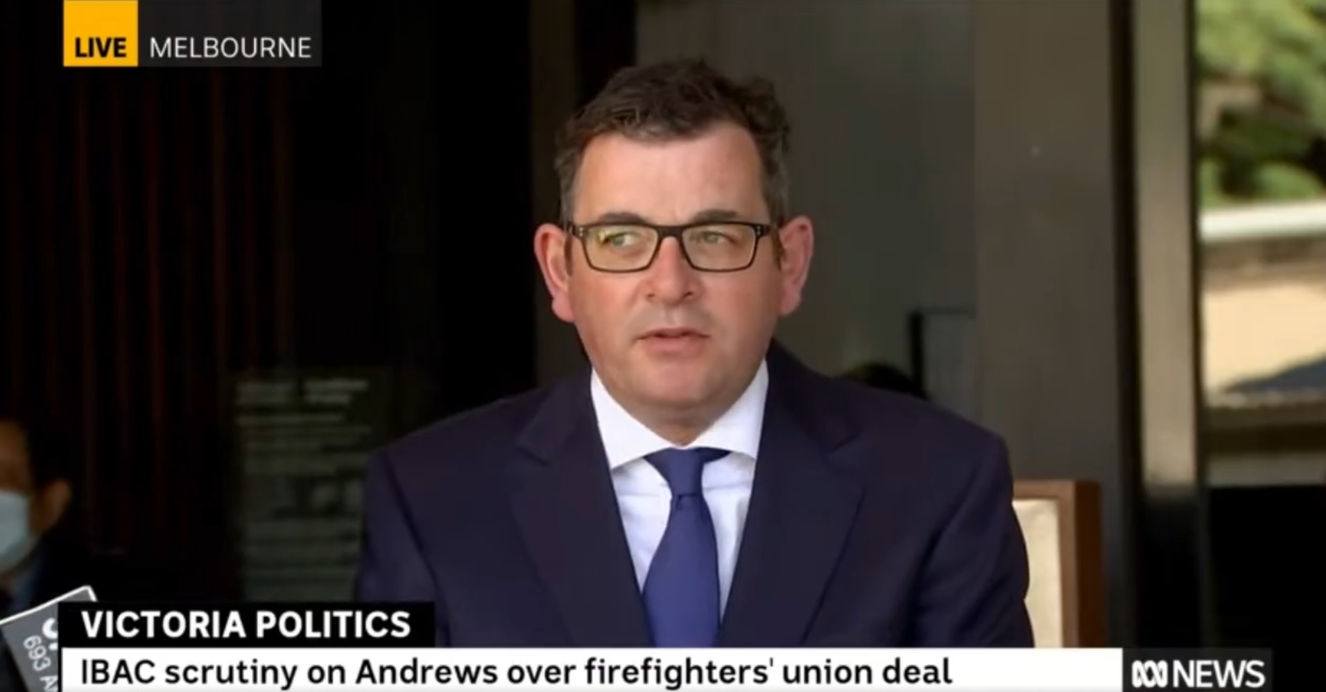 Dan Andrews under the watch of Victoria's anti-corruption body