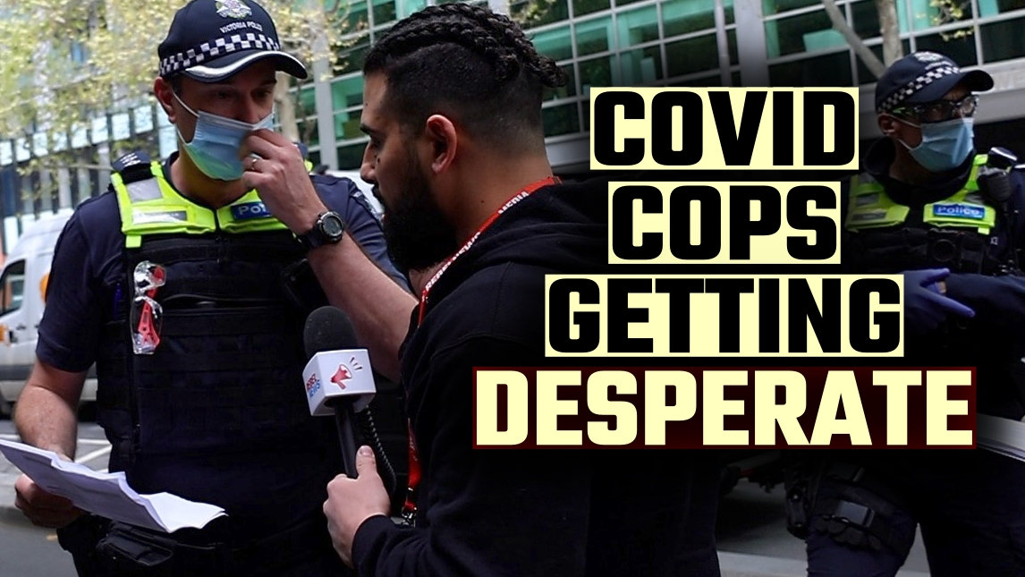 PAPERS PLEASE: Police try new tactic to STOP free press in Melbourne