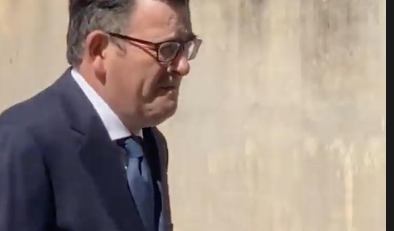 WATCH: Dan Andrews BUSTED breaking his own mask mandate