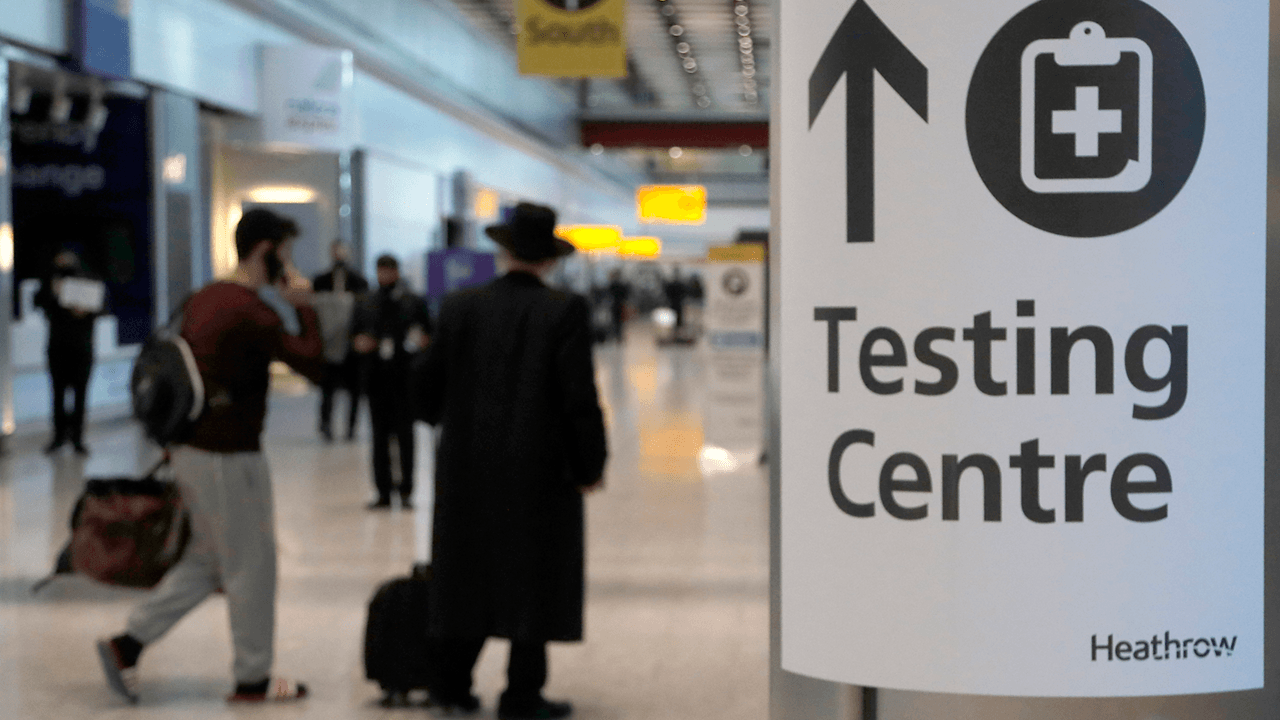British travellers may need to take COVID tests over live video to prove they're not faking