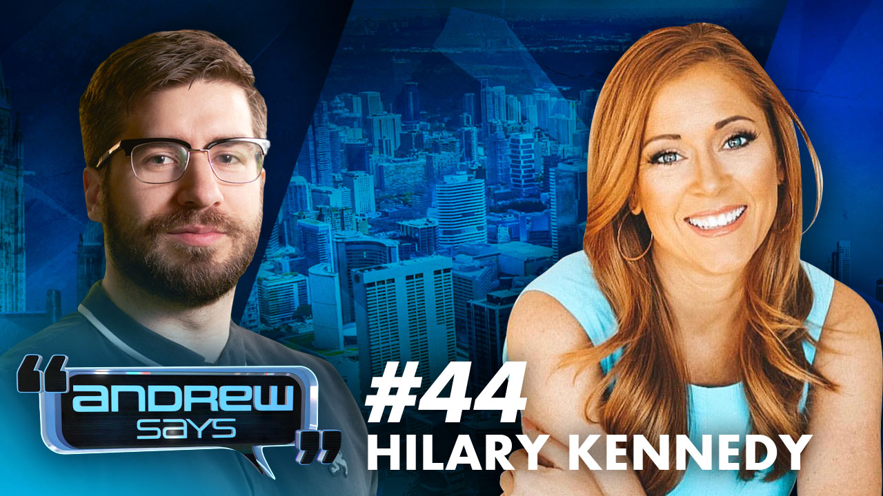 Your Medical Privacy is Gone | Hilary Kennedy (BlazeTV) Andrew Says 44
