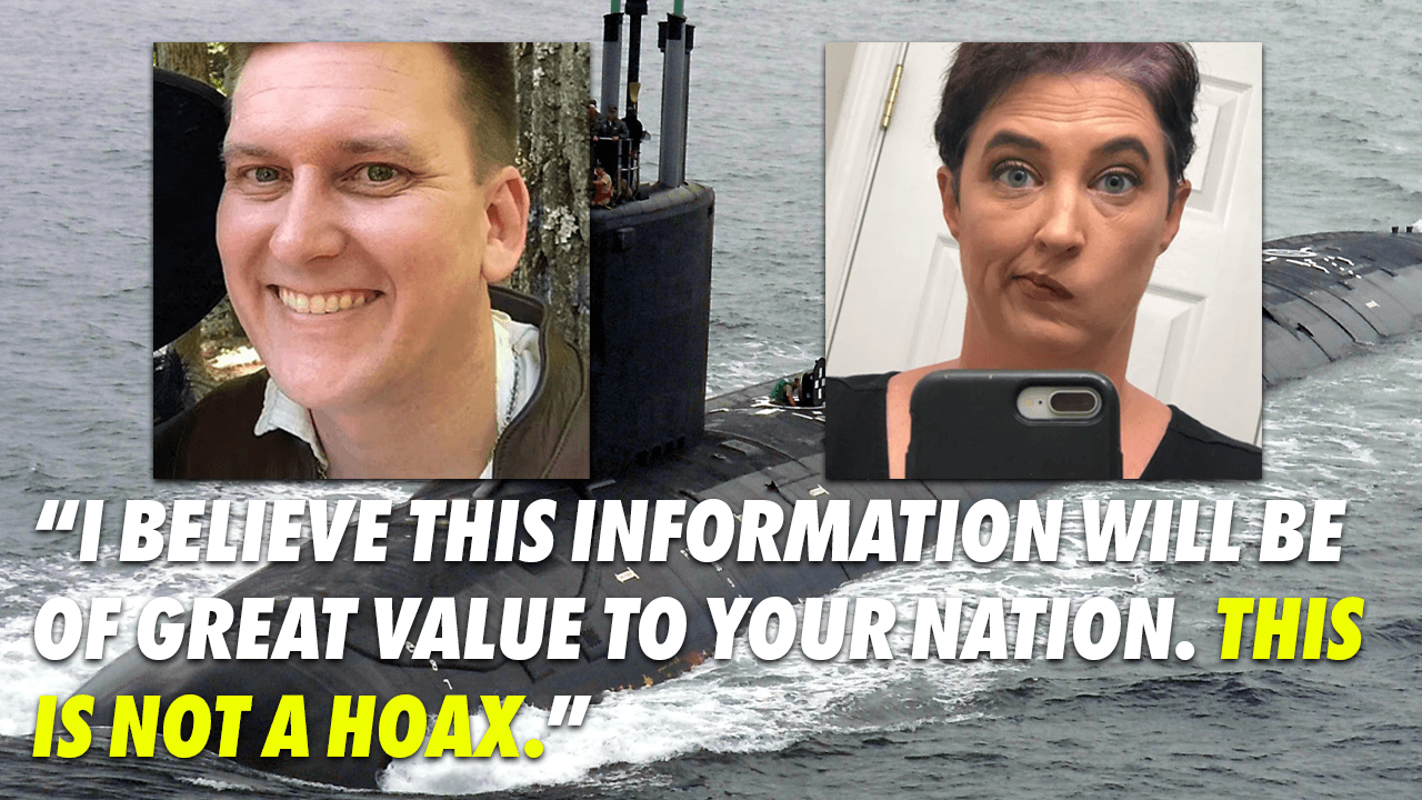 U.S. Navy engineer, wife charged for leaking nuclear sub info to foreign power