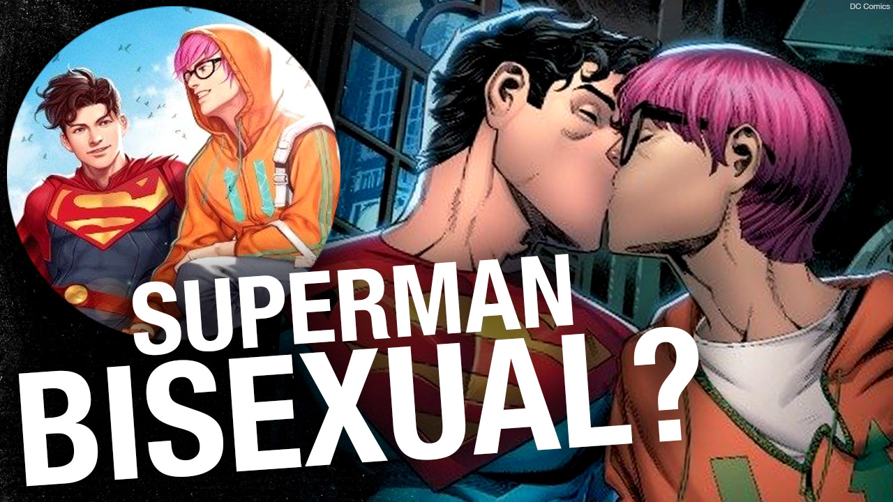 Superman is bisexual now (just to trigger you)