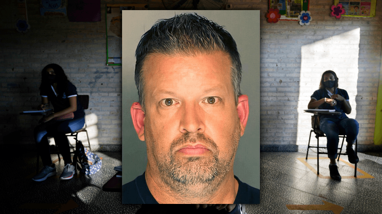 Pennsylvania teacher arrested for threats after janitors remove plastic COVID barrier