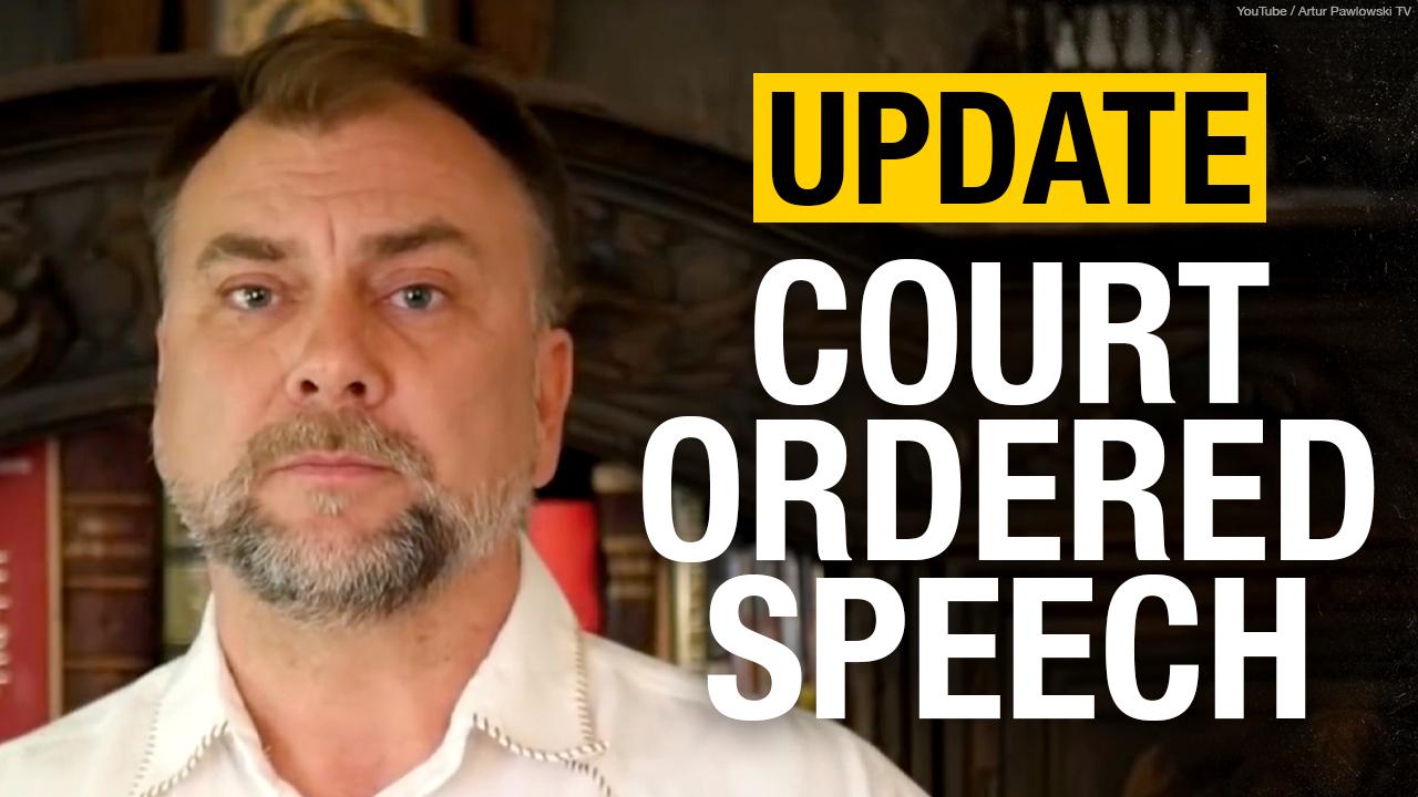 BIZARRE: Judge orders Pastor Artur Pawlowski to condemn himself