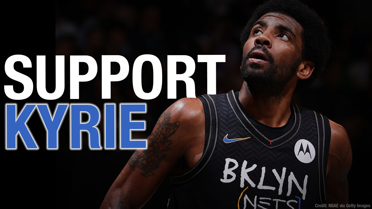 Support Kyrie Irving in his fight against NBA vaccine mandate