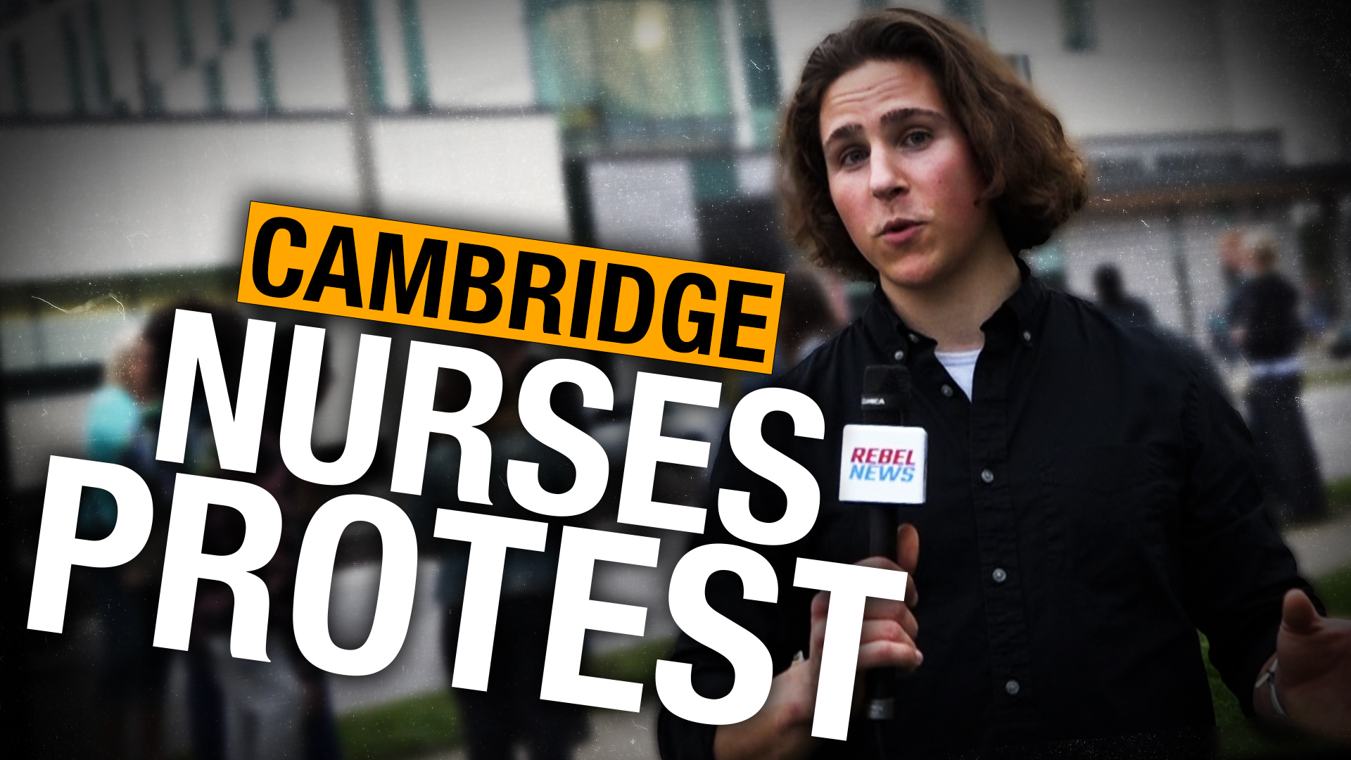 Why not just comply? |  Nurses protest against hospital vaccine mandate